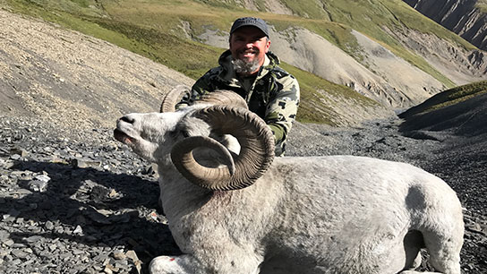 HN19024 - Northwest Territories Dall Sheep Hunt for One with Arctic Red  River Outfitters - Hunter Nation