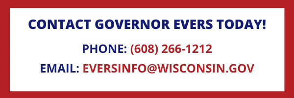 CONTACT GOVERNOR EVERS TODAY! (1)